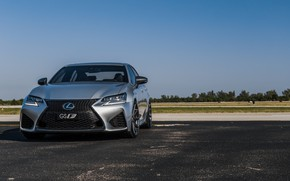 Picture Lexus, Japan, Sky, Blue, New, Silver, Sight, GSF