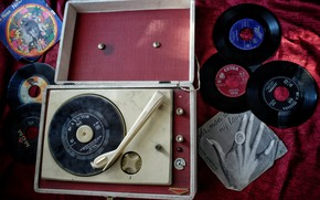 Picture music, vinyl, records, record player