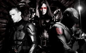Wallpaper Sienna Miller, Cobra, Channing Tatum, Ray Park, Sienna Miller, Channing Tatum, G.I. Joe: The Rise ...