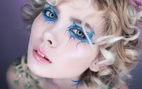 Picture makeup, sponge, Alexander Shulzhenko, Elena Alekseeva
