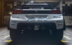 Picture Auto, Machine, Speed, Peugeot, Red Bull, Rally, Dakar, Dakar, SUV, Rally, DKR, 3008, Peugeot 3008 ...