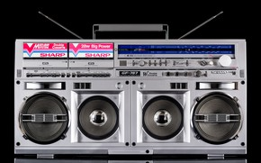 Picture Sharp, Stereo, GF-767H, BOOMBOX