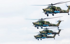 Picture Helicopter, Army, Russia, Aviation, BBC, Four, Mi-28N, Night hunter, The Russian air force, Mi-28, Mile, ...