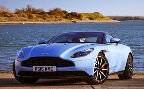 Picture Aston martin, Blue, DB11