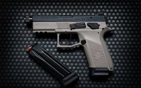 Wallpaper gun, CZ P-07, weapons