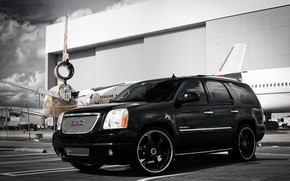 Picture wheels, color, GMC, Denali, Yukon, lowered, matched, Gianelle