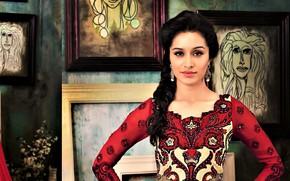 Picture dress, cute, indian, brunnet, desi, shraddha Kapoor, kapoor