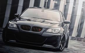 Picture BMW, Black, E60