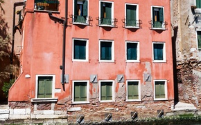 Picture Channel, Italy, Venice, The building, Italy, Venice, Italia, Building, Venice, Canal