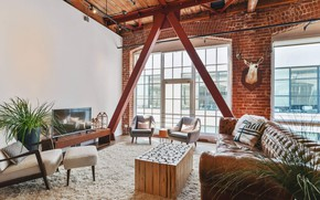 Picture design, style, interior, living room, South Park Home