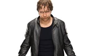 Picture jacket, actor, actor, wrestler, WWE, jacket, wrestler, Dean Ambrose, Dean Ambrose, Raw