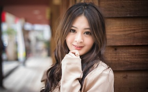 Picture look, girl, hair, Asian, cutie