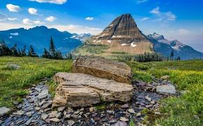 Picture landscape, mountains, nature, river