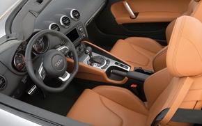 Picture Audi, the wheel, salon, roadster
