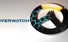 Picture logo, game, texture, Overwatch