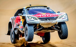 Picture Sport, Speed, Race, Peugeot, Lights, Red Bull, Rally, Rally, Sport, DKR, 106, 3008, Silk road, …