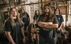 Picture Death Metal, Cannibal Corpse, George Fisher, Alex Webster, Pat O'Brien, Paul Mazurkiewicz, Rob Barrett