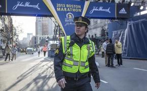 Picture cinema, USA, Boston, man, movie, american, film, Mark Wahlberg, cop, uniform, seifuku, Patriots Day