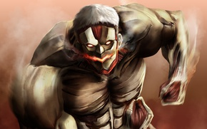 Picture game, big, anime, evil, asian, giant, manga, japanese, oriental, asiatic, powerful, strong, muscular, Shingeki no …