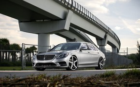Picture Mercedes, color, S550, lowered, matched