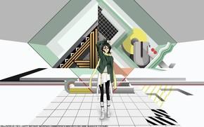 Picture anime, art, Bleach, Bleach, Rukia
