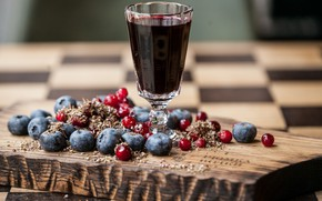 Picture berries, blueberries, juice, cranberry
