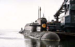 Picture submarine, BDRM, Project 667
