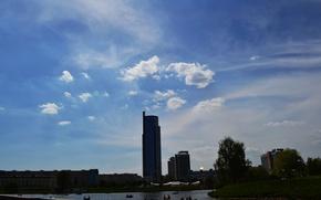 Picture summer, the city, Belarus, Minsk