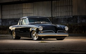 Picture 1953, Black, Coupe, Tuning, Studebaker, Commander