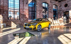 Picture BMW, BMW, gold, crossover, SUV, F39