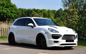 Picture Porsche, 2011, White, Cayenne, Merdad