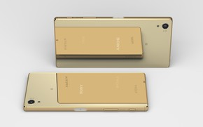 Picture SONY, Gold, Sony Xperia Z5