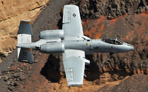 Picture Thunderbolt II, single, A-10C, twin-engine attack aircraft, Warthog