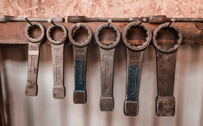 Picture tool, keys, wrench, the wrench, socket, 8k+