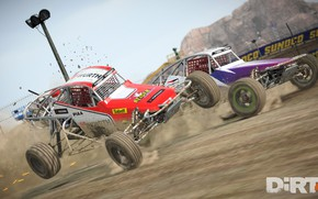Picture car, logo, game, Dirt, race, speed, fast, Dirt 4