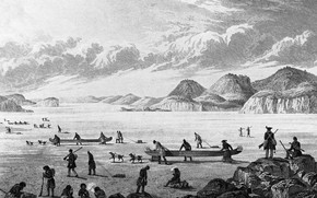 Picture clouds, first expeditions, in the northeast, the discoverers