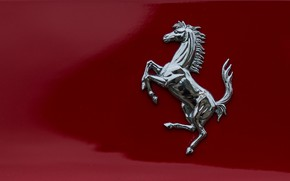 Picture horse, icon, Ferrari, emblem, brand
