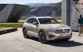 Picture TDI, Volkswagen, Touareg, 2018, crossover, Atmosphere