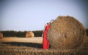 Picture girl, hay, Alexander Żygo