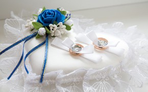 Picture flower, ring, wedding, decor