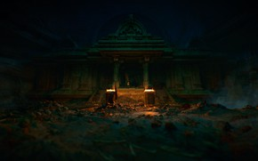 Picture Fire, Uncharted: The Lost Legacy, Ancient place