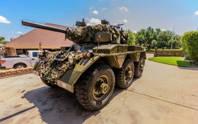 Picture military, weapon, armored, cannon, armored vehicle, British army, FV601 Saladin, Alvis Saladin, FV 601 Saladin