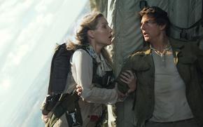 Wallpaper cinema, film, movie, The Mummy, Tom Cruise, Annabelle Wallis