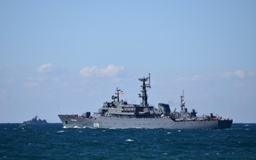 Picture ship, the black sea, training, Perekop