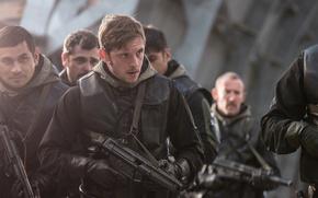 Picture cinema, gun, weapon, movie, film, Jamie Bell, MP5, Heckler & Koch, H&K, HK MP5, 6 …