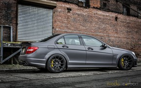 Picture Mercedes, Grey, C63, Amg