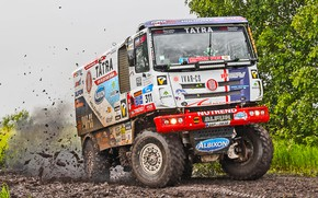 Picture Nature, Sport, Speed, Race, Dirt, Trucks, Squirt, Russia, Rally, Rally, 311, Silk road, Silk Way, …