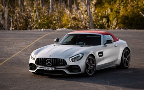 Picture Roadster, Mercedes-Benz, supercar, AMG, 2018, GT C