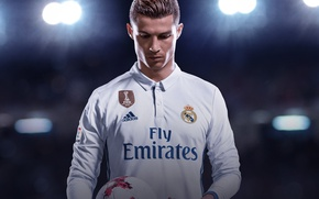 Picture seifuku, Real Madrid CF, FIFA, FIFA 18, sport, uniform, Ronaldo Edition, Cristiano Ronaldo, game