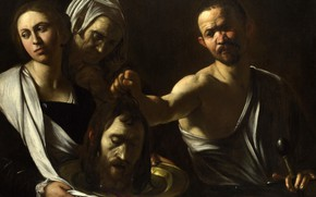 Picture picture, mythology, Michelangelo Merisi da Caravaggio, Salome with Head of John the Baptist
